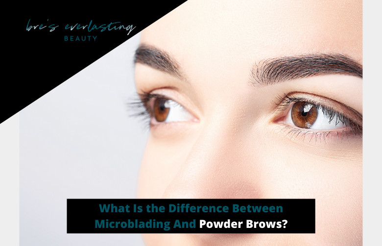 The Difference Between Microblading And Powder Brows
